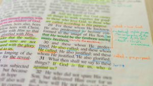 What is the best method to highlight my Bible?