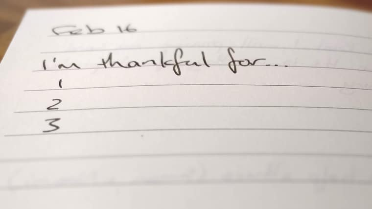 5 reasons to give thanks every day